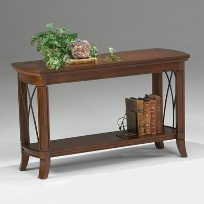 Bernards Cathedral Style Console Table