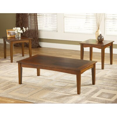 Bernards Promo 3 Piece Coffee Table Set