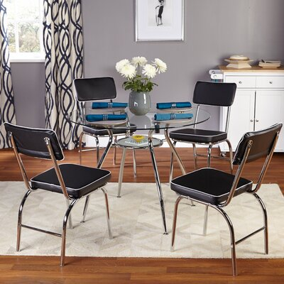 TMS Mable 5 Piece Dining Set