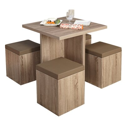TMS Baxter 5 Piece Dining Set