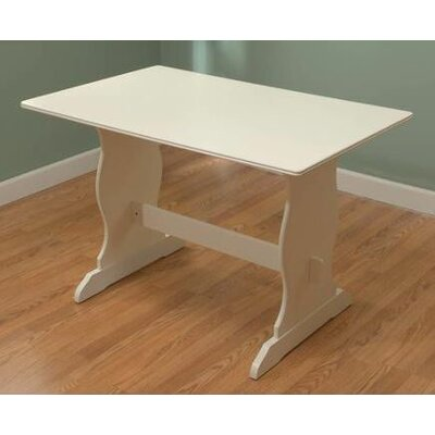 TMS Nook Dining Table in Antique White
