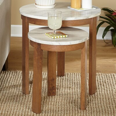 Mercury Row Caison 2 Piece Nesting Tables