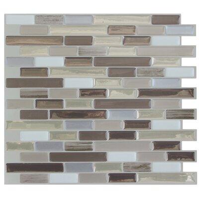 smart tiles mosaik muretto durango x peel stick