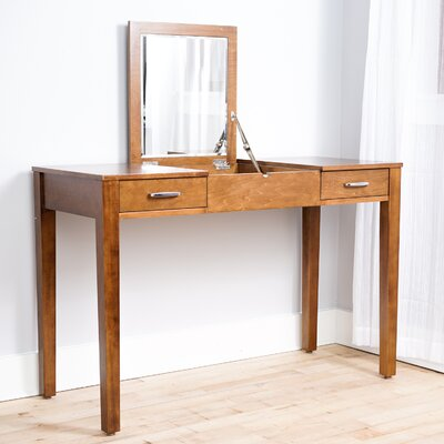 Hives and Honey Ainsley Vanity Desk with Mirror