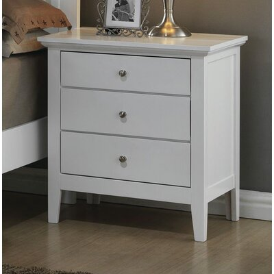 Just Cabinets Furniture and More Brooks 3 Drawer Nightstand