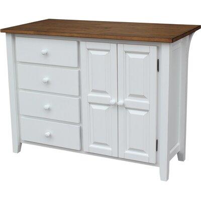 Just Cabinets Belmont Kitchen Island Wayfair