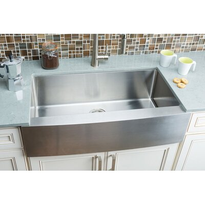 Magnifying Glass Video  Series Single Bowl Kitchen Sink