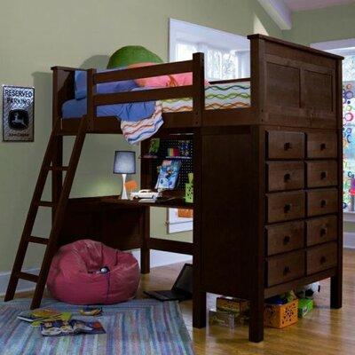 Epoch Design Kenai Twin Loft Bed w/Dresser