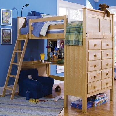 Epoch Design Kenai Twin Loft Bed w/ Dresser