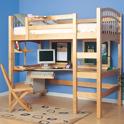 epoch design mckenzie twin loft bed customizable bedroom