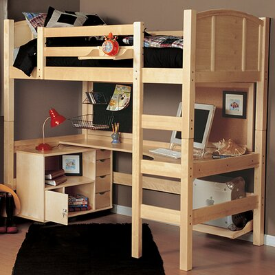 Epoch Design Radia Twin Loft Bed Customizable Be..