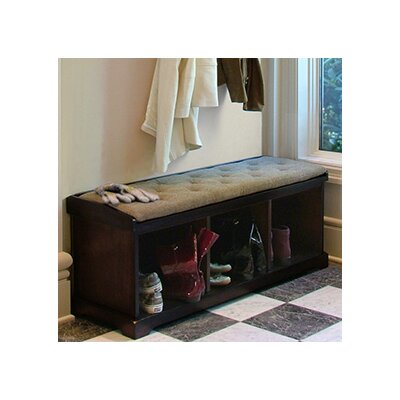 Epoch Design Brookwood Wooden Storage Entryway Bench