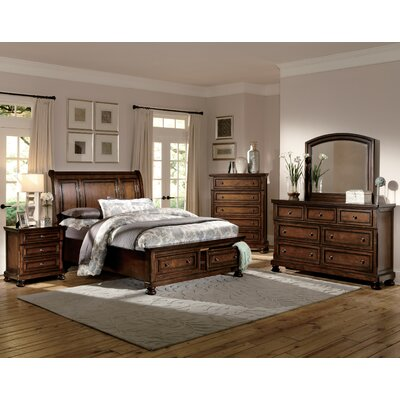 Woodhaven Hill Cumberland Panel Customizable Bed..
