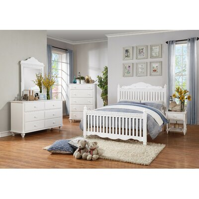 Woodhaven Hill Emmaline 6 Drawer Dresser with Mi..
