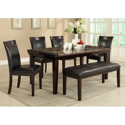 Woodhaven Hill Thurston 6 Piece Dining Set