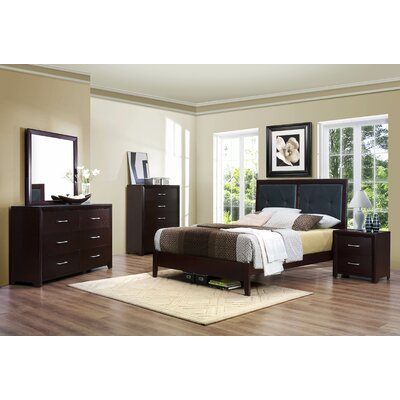 Woodhaven Hill Edina Queen Platform Customizable Bedroom Set