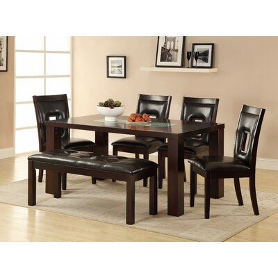 Woodhaven Hill Lee 6 Piece Dining Set