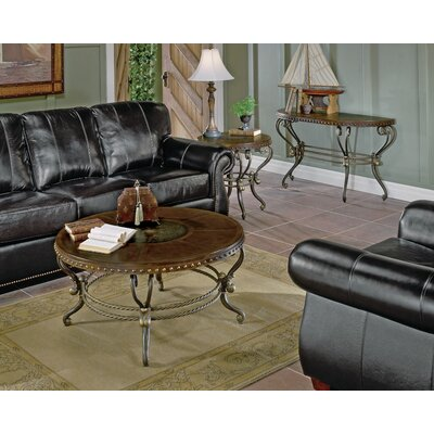 Woodhaven Hill 5553 Series Coffee Table with Curved Base