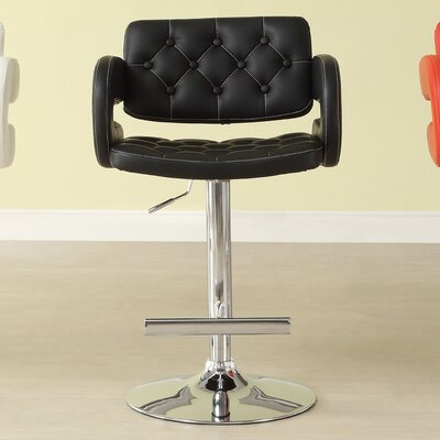 Woodhaven Hill Ride Adjustable Height Swivel Bar Stool (Set of 2)