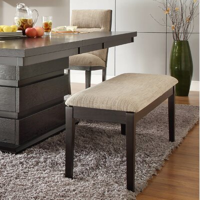Latitude Run Leonor Wood Kitchen Bench