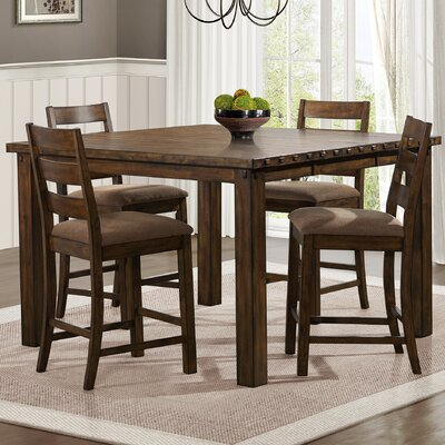 Woodhaven Hill Ronan Counter Height Extendable Dining Table