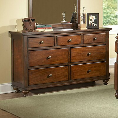 Woodhaven Hill Aris 7 Drawer Double Dresser