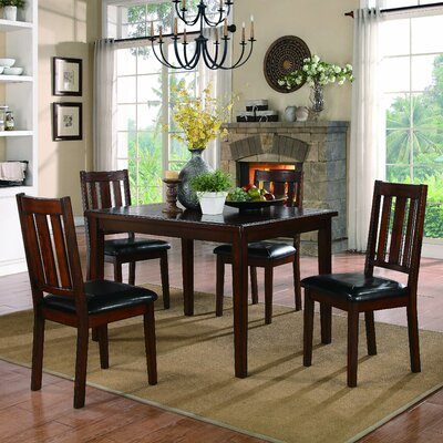 Woodhaven Hill Mosely 5 Piece Dining Set