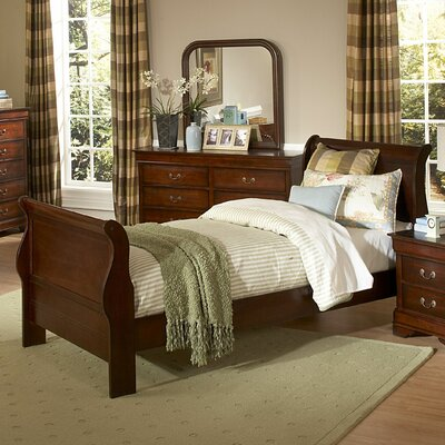 Woodhaven Hill Chateau Sleigh Bed