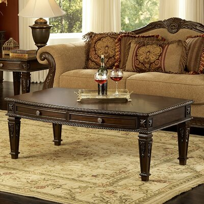 Woodhaven Hill Palace Coffee Table