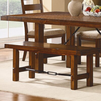 Loon Peak South Bross Wooden Kitchen Bench
