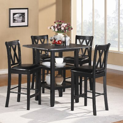 Darby Home Co Kathie 5 Piece Counter Height Dining Set U0026 Reviews | Wayfair