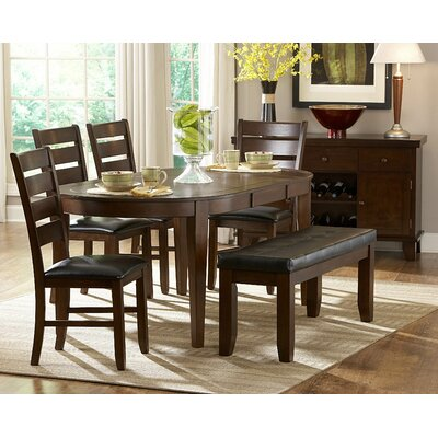 Woodhaven Hill Ameillia 6 Piece Dining Set