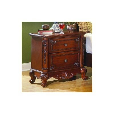 Astoria Grand Cleveland 2 Drawer Nightstand