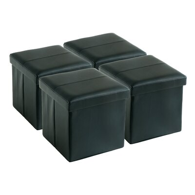 Zipcode™ Design Suzanne Folding Storage Ottoman (Set of 4)