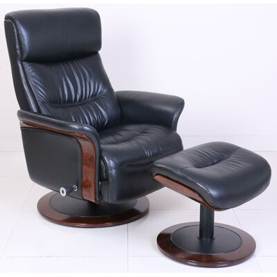 Barcalounger Pedestal Colton Ped Recliner and O..