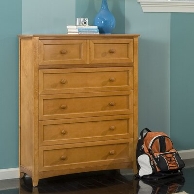 NE Kids School House Five Drawer Chest