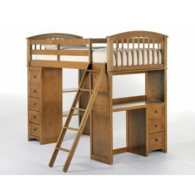NE Kids School House Student Loft Bed
