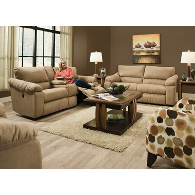 Southern Motion Gravity Reclining Console Loveseat
