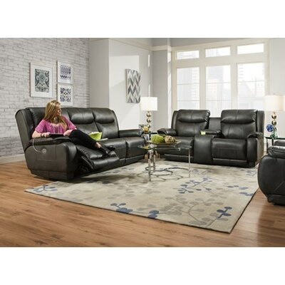 Southern Motion Velocity Reclining Console Sofa