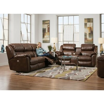 Southern Motion Escapade Double Reclining Console and Sofa