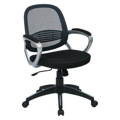 OSP Designs Bridgeport Mid-Back Task Chair with Arms