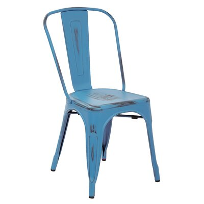 OSP Designs Bristow Armless Stacking Chair (Set of 4)