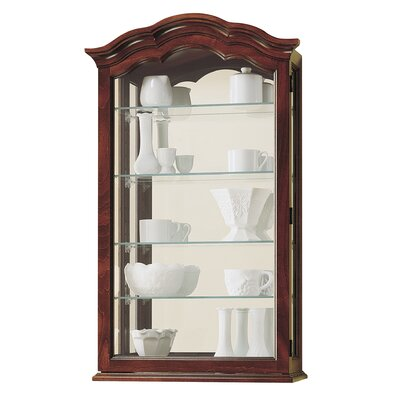 Howard Miller® Vancouver II Wall-Mounted Curio Cabinet