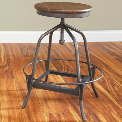 Largo Abbey Adjustable Height Swivel Bar Stool