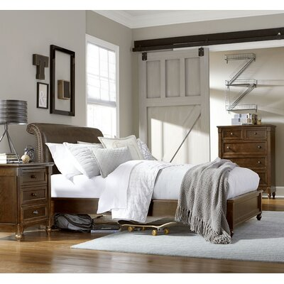 LC Kids Big Sur by Wendy Bellissimo Sleigh Customizable Bedroom Set