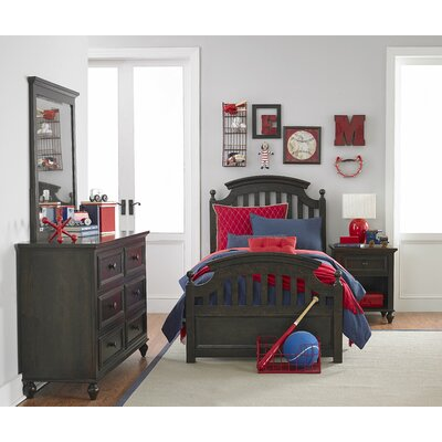 LC Kids Academy Sleigh Customizable Bedroom Set