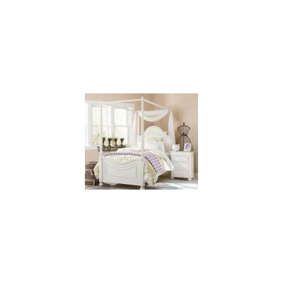 LC Kids Charlotte Four Poster Customizable Bedroom Set