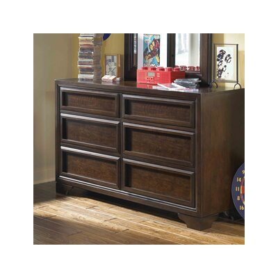 LC Kids Benchmark 6 Drawer Double Dresser
