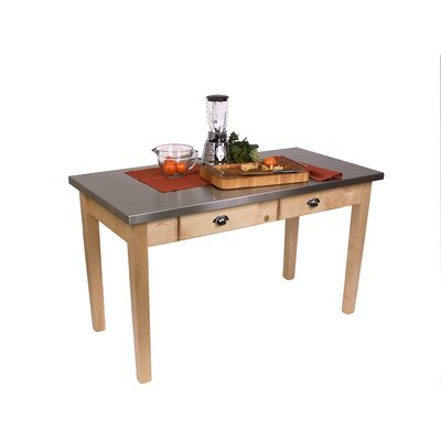 John Boos Cucina Americana Prep Table with Stain..