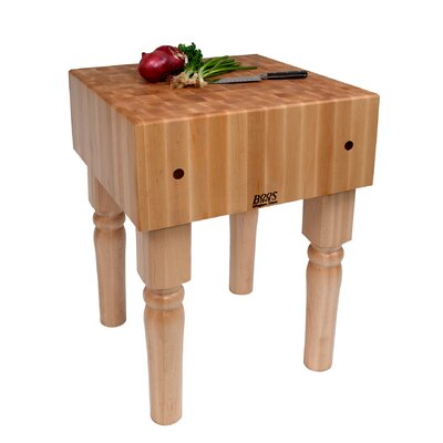 John Boos BoosBlock Butcher Block Prep Table
